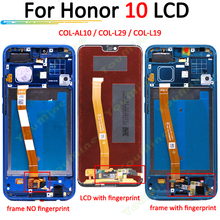 Voor Huawei Honor 10 Lcd Touch Screen Digitizer COL AL10 COL L29 COL L19 Vergadering Vervanging Voor Honor 10 Lcd