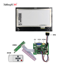 10,1 IPS для Raspberry Pi монитор 1280*800 TFT EJ101IA-01G HD ЖК-дисплей пульт дистанционного управления плата драйвера HDMI 2AV VGA для Raspberry
