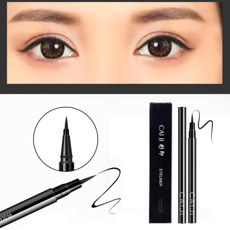 Professional Black Liquid Eyeliner Waterproof Long-Lasting Make Upเครื่องสำอางค์Eye Liner Liquid Eyelinerดินสอแต่งหน้าเครื่องมือ