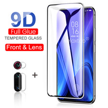 2-in-1 9d protective glass for xiaomi mi 9t pro screen protector camera lens film on xiomi mi 9 8 se a3 a2 lite a1 cc9 cc9e glas(China)
