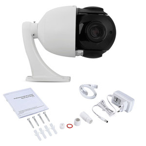 Image 5 - 4 18k 8MP 5MP ptz poe ipカメラ30Xズーム防水ミニスピードドームカメラH.265 ir 60メートルP2P onvif ptz ipカメラ内蔵マイクオーディオ