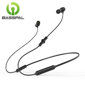 BassPal Bluetooth Earphones Sport Wireless Headphone 48Hrs Talktime Neckband Stereo Headsets Running for iPhone Huawei Xiaomi(China)
