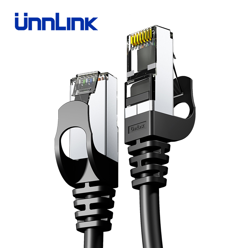 Unnlink Ethernet Cable UTP Cat6 STP Cat7 Lan Cable RJ45 2m 3m 5m 8m 10m Network Patch Cable For PC Computer Modem Router TV Box