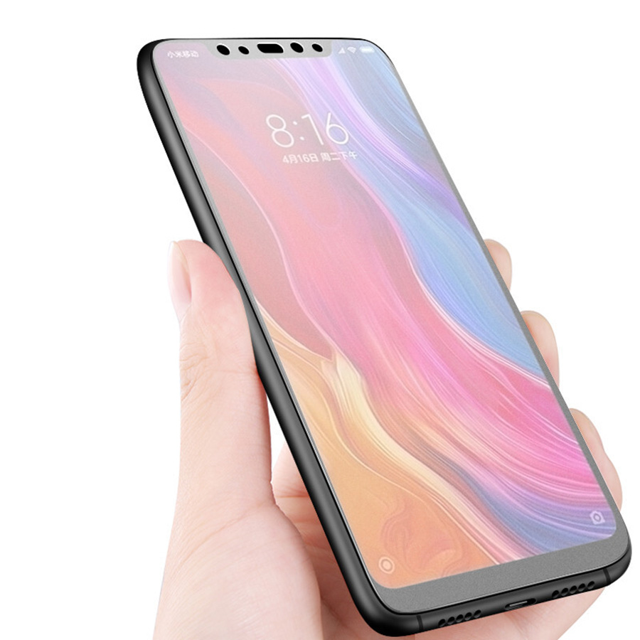 Image 5 - No fingerprint Matte Glass for Xiaomi Pocophone F1 A3 9T CC9 Screen Protector Frosted Tempered Glass for Redmi K20 Note 7 8 Pro-in Phone Screen Protectors from Cellphones & Telecommunications