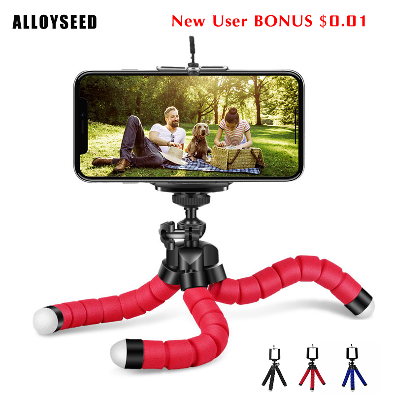 Phone Holder Flexible Sponge Octopus Tripod Selfie Stick Expanding Stand Accessories Stand For Phone