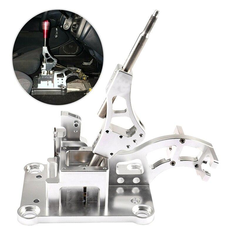 CITALL Auto Argento K Tuned Scatola del Cambio di Marcia Shifter Pomello del cambio Testa Fit per Acura RSX/Serie K motore EG EK