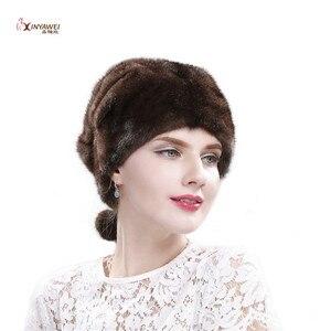 Модные новые продукты Горячая продажа Качество и количество полный спектр норковая шапка нагрудник зимняя шапка Дамы выйдите теплый Gat.