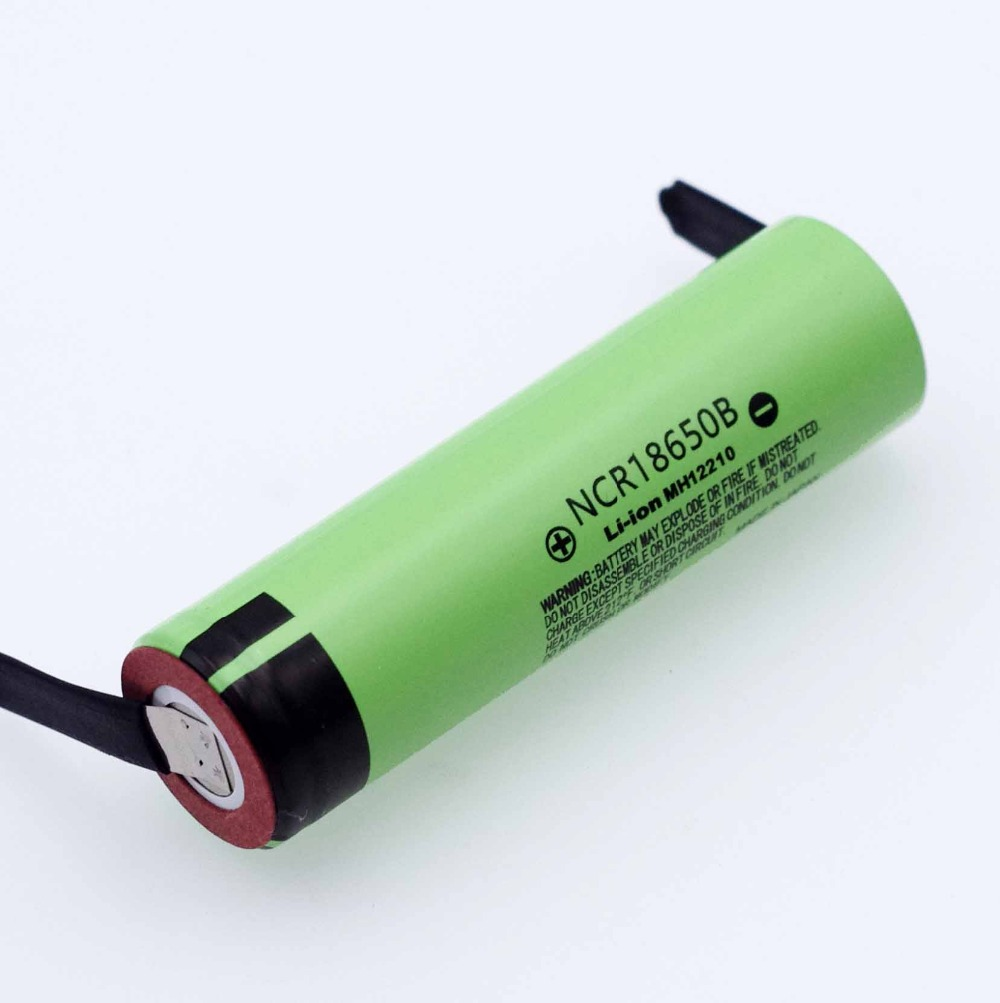 Image 2 - 2019 New Original NCR18650B 3.7 v 3400mah 18650 Lithium Rechargeable Battery Welding Nickel Sheet batteries-in Replacement Batteries from Consumer Electronics