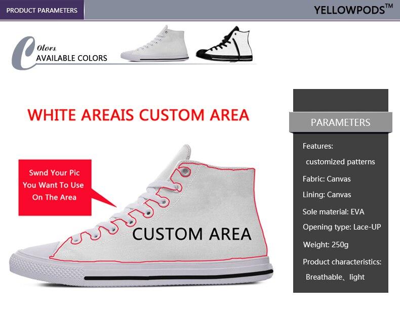 sapatos personalizados ao ar livre