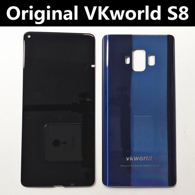 Orijinal LCD VKworld S8 5.99 dokunmatik LCD ekran ekran + arka kapak pil konut Digitizer meclisi yedek aksesuarlar