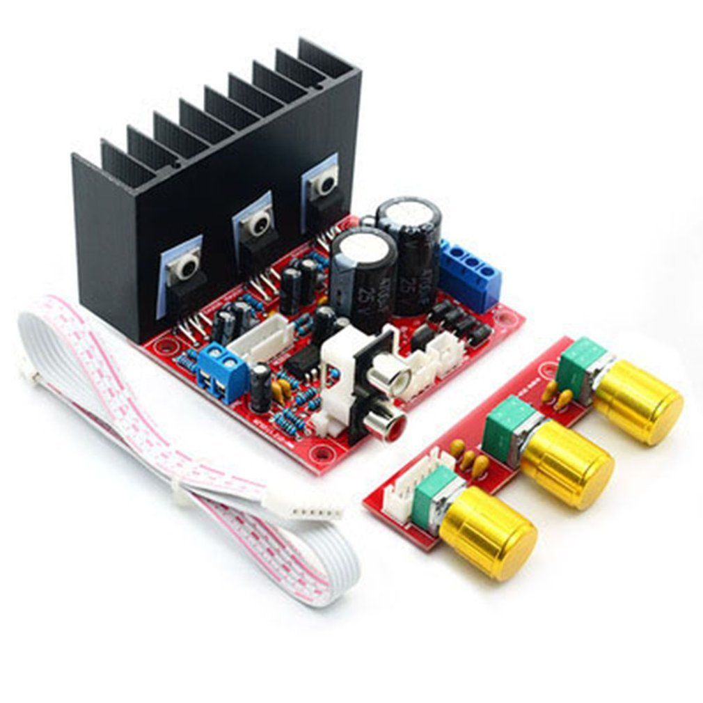 Tda2030a 2.1 Super Bass 2.1 Subwoofer Amplifier Board Three Channels Speaker Audio Amplifier Professional image