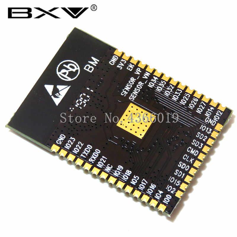 Module Bluetooth WIFI ESP32 240MHz double coeur CPU MCU carte réseau sans fil ESP-WROOM-32 Base sur carte adaptateur ESP32S + ESP-32S