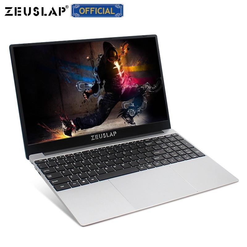 Zeusap 15.6 polegada intel core i7 8 gb ram até 1 tb ssd 1920*1080 p fhd win10 banda dupla wifi netbook i7 computador portátil portátil