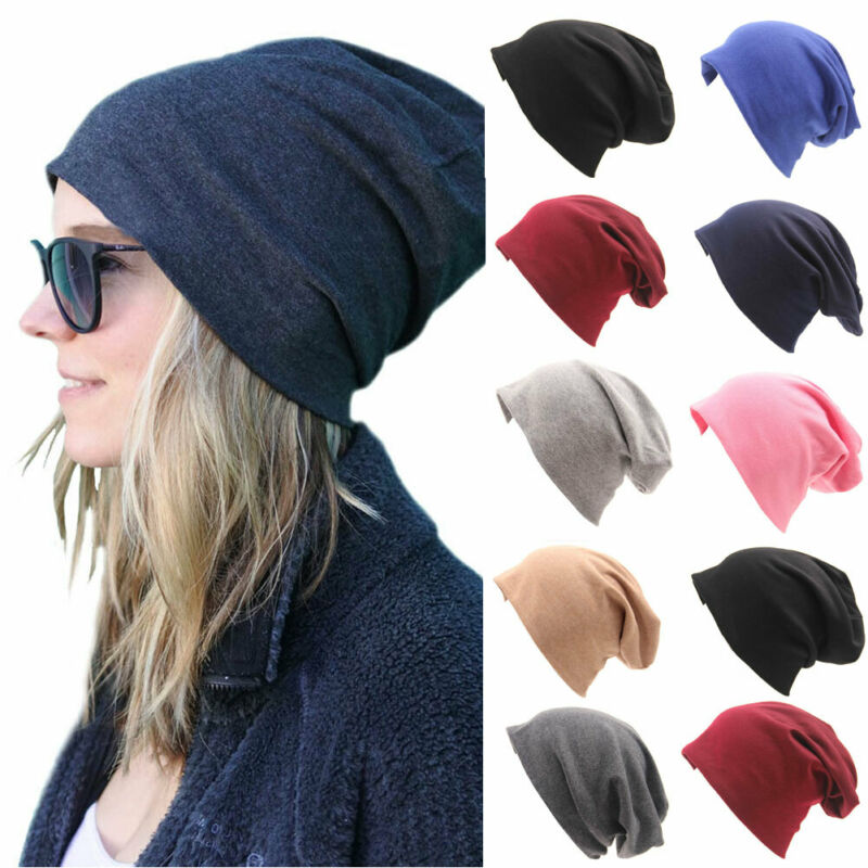 Unisex Men Women Solid Beanies Hat Hip Hop Knitted Wool Autumn Winter Warm Ski Skull Casual Streetwear Cuff Cap Hat 8 Colors NEW