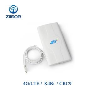 Image 1 - 3g 4g lte mimo wifi antena painel externo crc9 impulsionador de sinal para roteador com adaptador crc9 e cabo Z142 W4GCRJ
