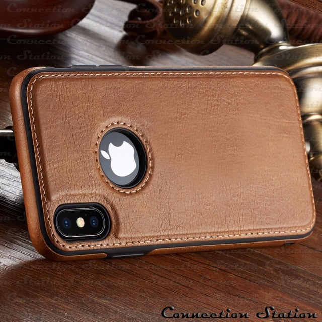Vintage Leather Case iPhone Xs Max 4