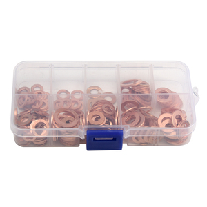 Copper Washer Gasket Nut and B
