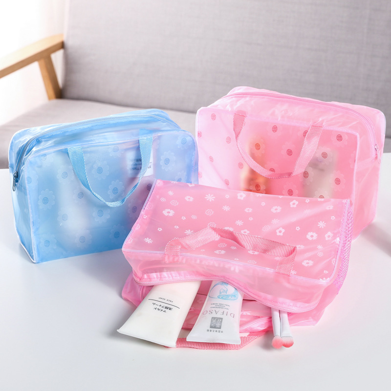 2020 New Fashion Waterproof Portable Makeup Bags Cosmetic Toiletry Travel Makeup Cosmetic Wash Toothbrush Pouch Organizer Bag