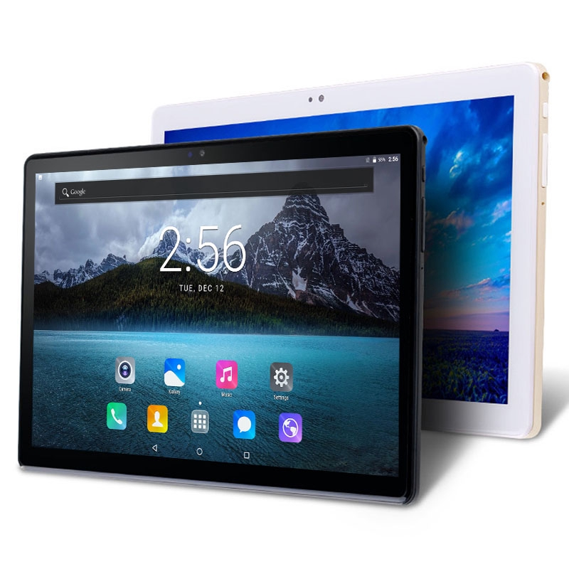 2020 New 10.1 Inch 6GB RAM128GB ROM Tablet PC 3G 4G LTE Original Call Phone  Android 9.0 Octa Core WiFi GPS 10.1 IPS 1280*800
