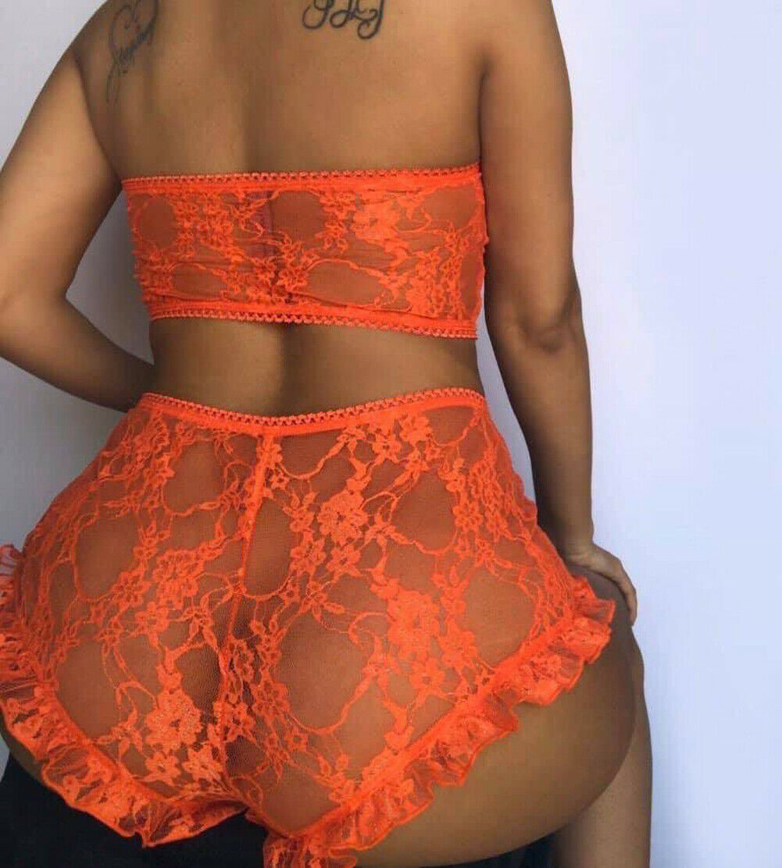 Ladies New Hot 2PCS Set Women Sexy Erotic Lingerie Lace Babydoll Underwear Ladies Nightwear Sleepwear G-string Sets