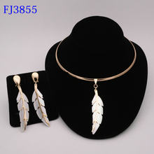 Fashion jewelry set Nigeria Dubai gold-color African bead jewelry wedding jewelry set African Bridal Wedding Gifts(China)