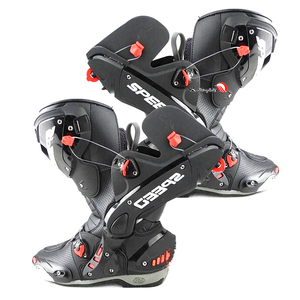 Image 3 - Mens Motorcycle Boots Motorbike Waterproof Speed Shoes Motocross Tall Boot Dirt bike ADV Sport Touring Boots Shoes