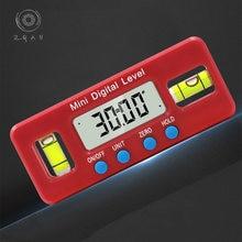 Миниатюрный электронный уровень с цифровым дисплеем 100 мм сильный