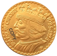 24-K Gold plated 1925 20 Zlotych Poland coins copy cheap Gyphongxin Copper Antique Imitation 1920-1939 CASTING CHINA people
