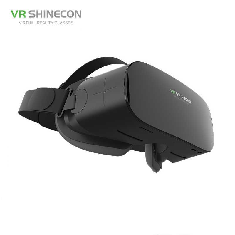 """Shincon スマートの Bluetooth Wifi アンドロイドオールインワン VR メガネ Imax 5.5 """"1920*1080 1080P HD 仮想現実ボックスヘルメット 2 ギガバイト + 16 ギガバイト 3D ゲーム"""
