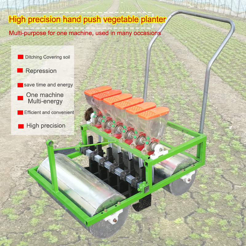 Hand push vegetable seeder artificial small agricultural seeder cabbage green vegetable parsley precision seeding machine|Machine Centre| |  - title=