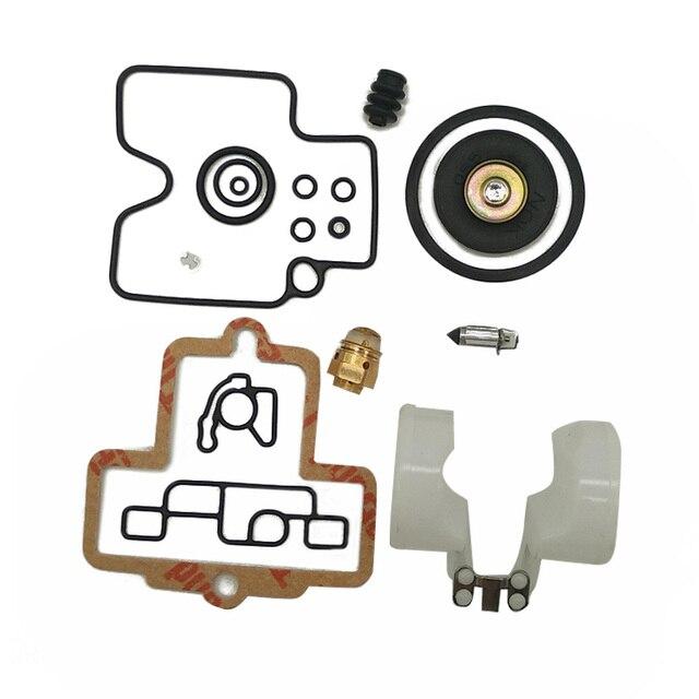 คาร์บูเรเตอร์Rebuild KitสำหรับKeihin FCR Slant Body 39 41 เครื่องยนต์โซ่เลื่อยมอเตอร์ชุดซ่อมคาร์บูเรเตอร์ชุดเครื่องมือปะเก็นอุปกรณ์เสริม