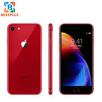 99% nouvelle Version Sprint Apple iPhone 8 A1863 LTE téléphone portable 4.7 2 GB RAM 64 GB/256 GB ROM empreinte digitale iOS 11NFC 1821mAh téléphone portable