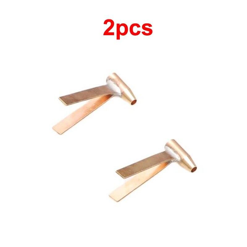 2pcs RC Boat 2mm Shafting Accessories Brass Bracket Double Arm Shaft Holder Herringbone Shelf for 1:200/350 Battleship Model DIY