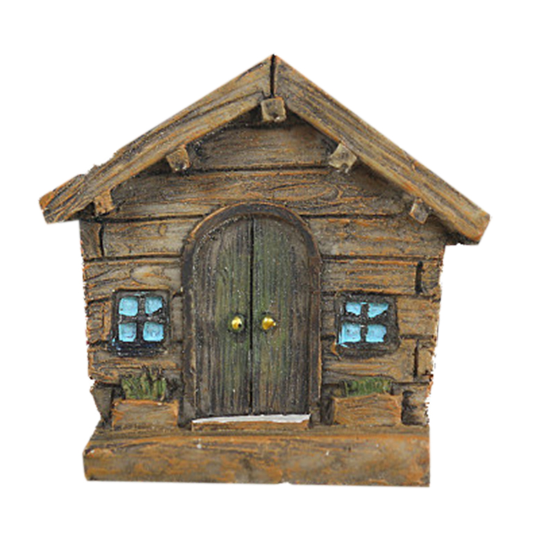 Miniature Fairy Garden Accessories Fairy Foyers For Trees Open Doors Garden Accessory Home Decoration