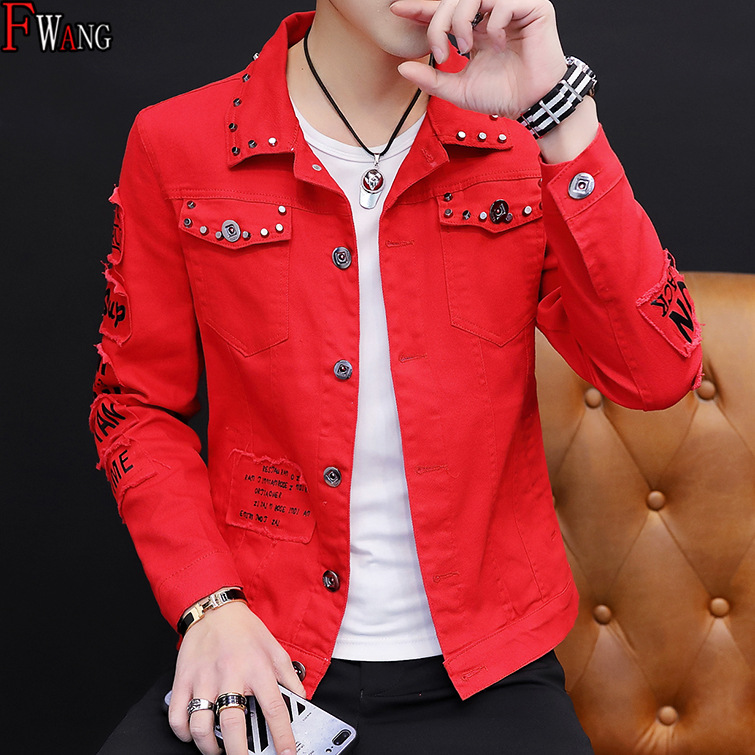 MEN'S Wear Summer New Style Cowb Spring And Autumn Jeans Coat Men's Korean-style Fashion Students Handsome Versatile Jacket