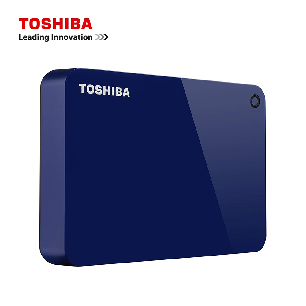 Toshiba Canvio Advance 1tb Portable External Hard Drive Usb 3.0 Blue Original