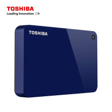 Toshiba – Canvio Advance disque dur externe Portable USB 3.0, rouge, 1 to