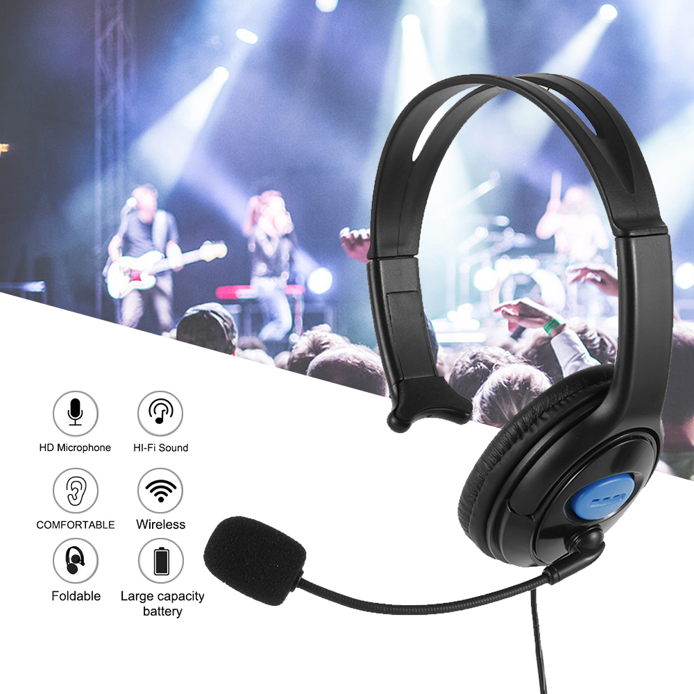 Wired Stereo Bass Surround Gaming Headset for Sony PS4 New Xbox One PC with Mic Headphones
