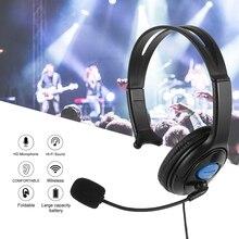 Wired סטריאו בס משחקי Surround אוזניות עבור Sony PS4 חדש Xbox אחד מחשב עם מיקרופון אוזניות