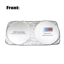 купить Car Windshield Sunshade for BMW E46 E90 E60 E39 F30 E36 F10 E87 F20 E30 X5 E70 E91 E92 Window Cover Sun Shade Auto Accessories онлайн