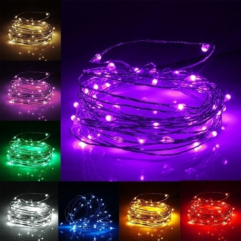 USB Led String Fairy Lights for Wedding Christmas Party Holiday Garden Decoration