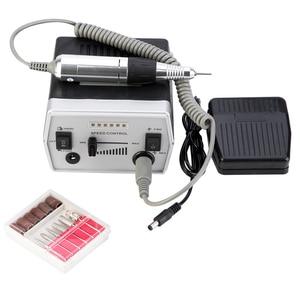Image 5 - 30000 RPM 3 色プロ電気ネイルドリルビットセットマニキュアツールペディキュアファイル爪イルドリルペンマシンセットキット 220 240V