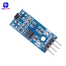 diymore 3144E Hall Sensor Module Motor Speed Test Board for Arduino Smart Car Speed Counter Sensor Module