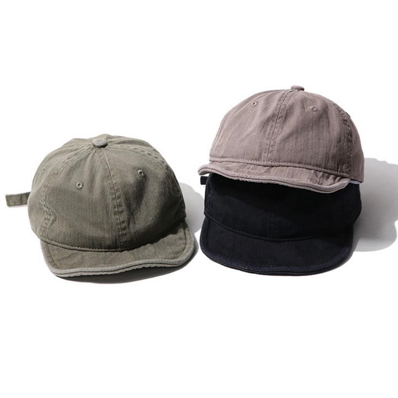 Soft Short Brim Baseball Cap For Men Women Designer Snapback Dad Hat Trucker Cap Golf Best Selling 2022 Hip Hop Fitted Snap Back