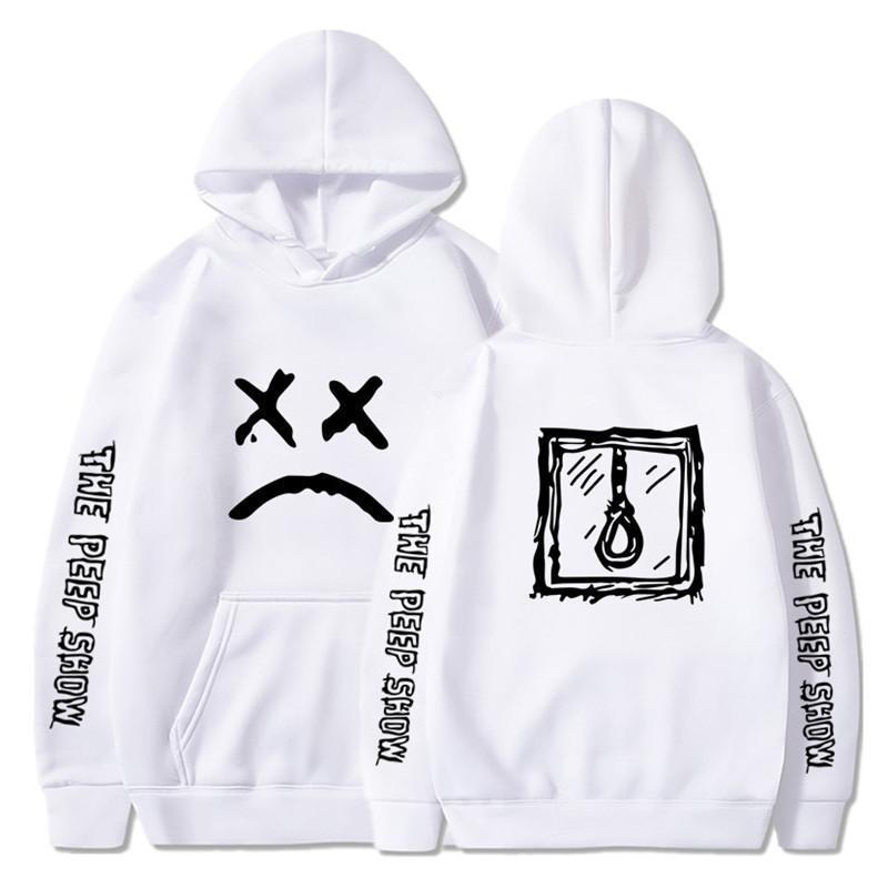 White Love off men's Lil Peep hoodies, hoodies, men's / women's hoodies, crybaby hoodie, sweatshirts-XXXL
