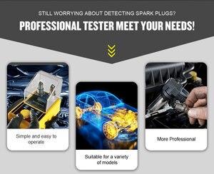 Image 2 - מקורי AUTOOL רכב מצת בודק הצתה בודקי 220V 110V רכב אבחון כלי 2 ~ 5 חור ניצוץ plug Analyzer