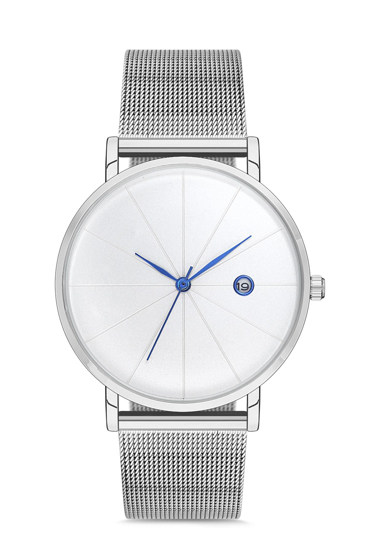 Reloj de pulsera Unisex de paja, reloj de pulsera original, color gris y azul, APL12C195H02