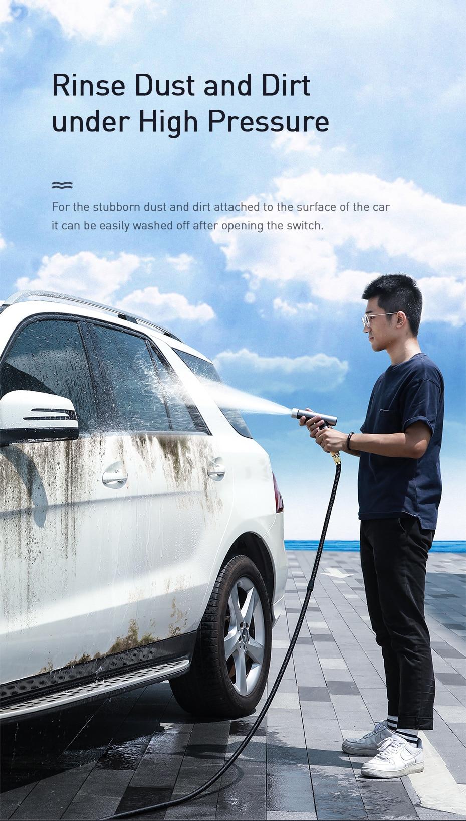 Baseus Car Washing Gun Water Sprayer 10