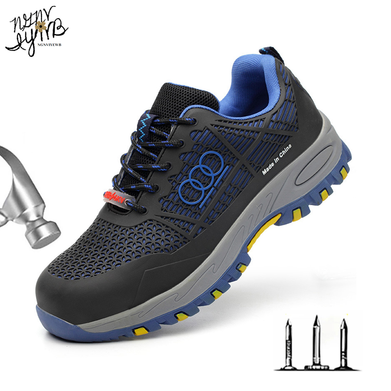 Insulated Shoes, Safety Shoes, Anti-smashing, Anti-piercing, Wear-resistant, Breathable Men's Safety Shoes, Women's Work Shoes