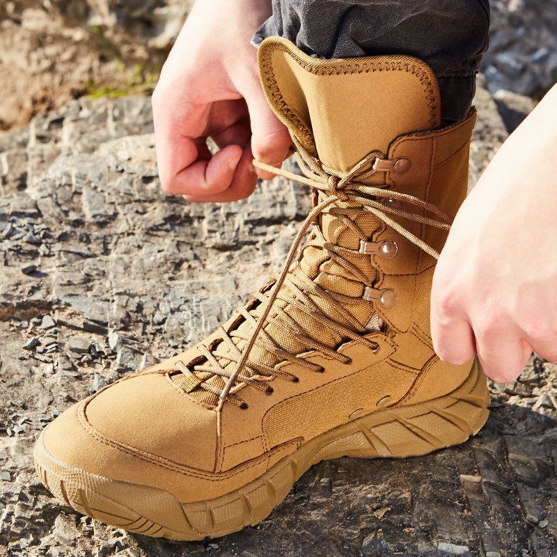 Tactical Boots Very War Combat Boots Outdoor Shoes Hight-top Military Shoes Hiking Shoes Men And Women Desert Boots